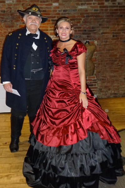 W.T. Sherman's bicentennial celebration - Costume Winners, Ron McClintock & Maihasha Simon