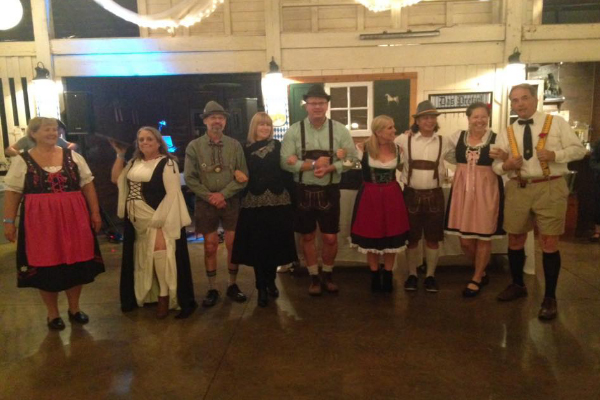 Oktoberfest 2018 - Contestants in the Costume Contest