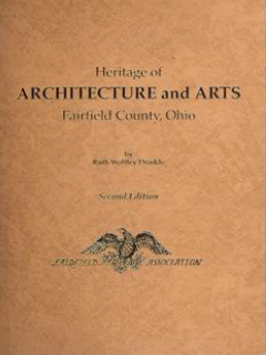 book cover of Heritage of Architecture and Arts of Fairfield County, Ohio